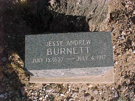 BURNETT, JESSE  ANDREW - Pinal County, Arizona | JESSE  ANDREW BURNETT - Arizona Gravestone Photos