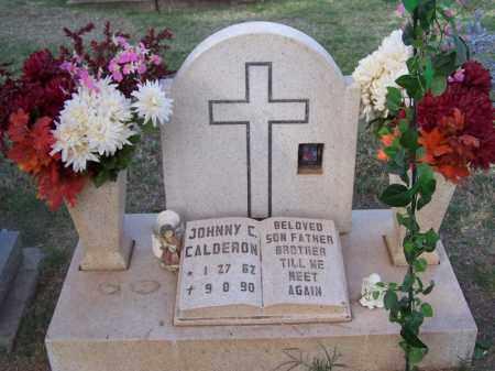 CALDERON, JOHNNY - Pinal County, Arizona   JOHNNY CALDERON - Arizona Gravestone Photos