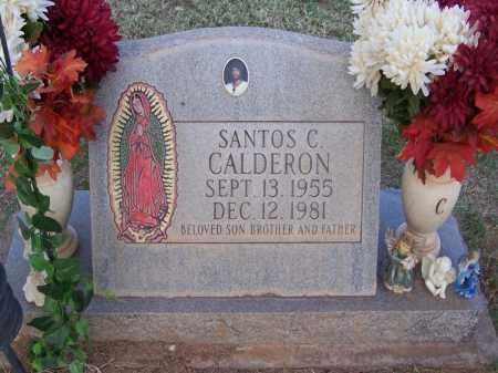 CALDERON, SANTOS - Pinal County, Arizona   SANTOS CALDERON - Arizona Gravestone Photos