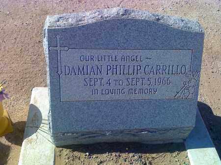CARILLO, DAMIAN PHILLIP - Pinal County, Arizona | DAMIAN PHILLIP CARILLO - Arizona Gravestone Photos
