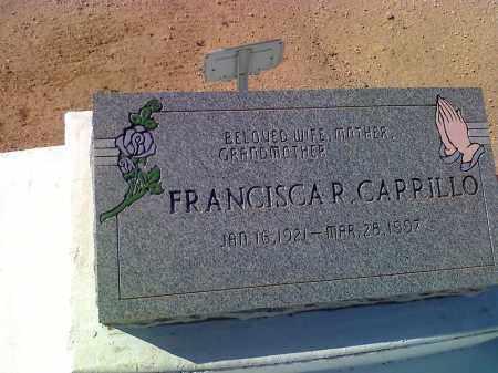 CARILLO, FRANCISCA R - Pinal County, Arizona   FRANCISCA R CARILLO - Arizona Gravestone Photos
