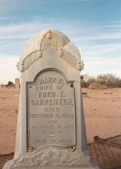 CARPENTER, MARY A. - Pinal County, Arizona | MARY A. CARPENTER - Arizona Gravestone Photos