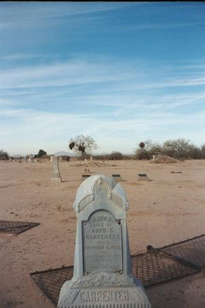 CARPENTER, VIEW - Pinal County, Arizona   VIEW CARPENTER - Arizona Gravestone Photos