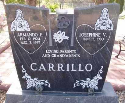 CARRILLO, ARMANDO E. - Pinal County, Arizona   ARMANDO E. CARRILLO - Arizona Gravestone Photos