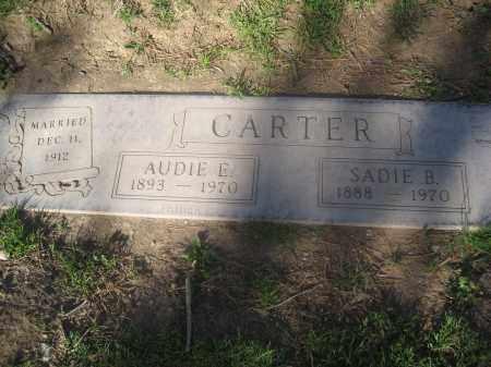CARTER, AUDIE E. - Pinal County, Arizona   AUDIE E. CARTER - Arizona Gravestone Photos