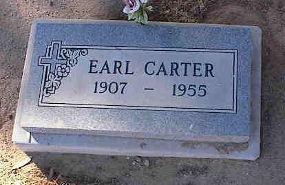 CARTER, EARL - Pinal County, Arizona   EARL CARTER - Arizona Gravestone Photos