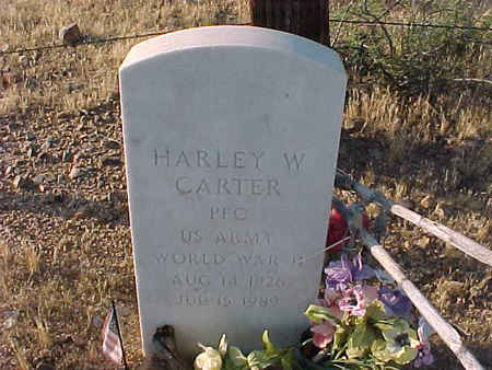 CARTER, HARLEY W. - Pinal County, Arizona   HARLEY W. CARTER - Arizona Gravestone Photos