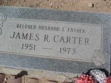 CARTER, JAMES R. - Pinal County, Arizona | JAMES R. CARTER - Arizona Gravestone Photos