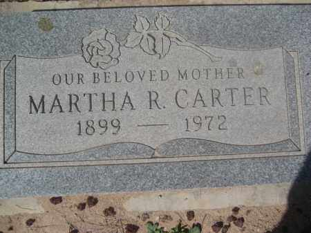 CARTER, MARTHA R. - Pinal County, Arizona | MARTHA R. CARTER - Arizona Gravestone Photos