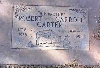 CARTER, RICHARD CARROLL - Pinal County, Arizona | RICHARD CARROLL CARTER - Arizona Gravestone Photos