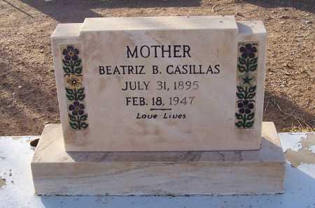 CASILLAS, BEATRIZ B. - Pinal County, Arizona | BEATRIZ B. CASILLAS - Arizona Gravestone Photos