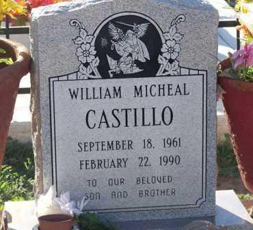 CASTILLO, WILLIAM MICHAEL - Pinal County, Arizona | WILLIAM MICHAEL CASTILLO - Arizona Gravestone Photos