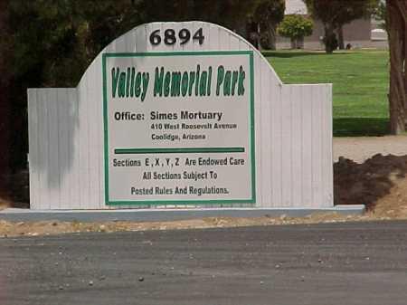 CEMETERY, VALLEY MEMORIAL PARK - Pinal County, Arizona   VALLEY MEMORIAL PARK CEMETERY - Arizona Gravestone Photos