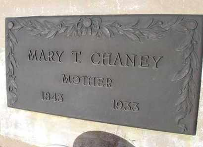 CHANEY, MARY T. - Pinal County, Arizona   MARY T. CHANEY - Arizona Gravestone Photos