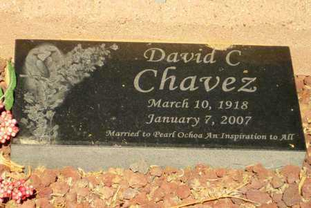 CHAVEZ, DAVID C. - Pinal County, Arizona   DAVID C. CHAVEZ - Arizona Gravestone Photos