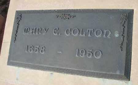 COLTON, MARY ESTELLE - Pinal County, Arizona | MARY ESTELLE COLTON - Arizona Gravestone Photos