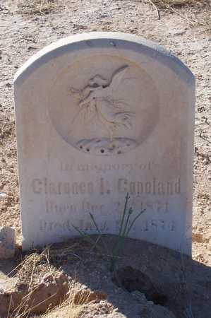 COPELAND, CLARENCE I. - Pinal County, Arizona | CLARENCE I. COPELAND - Arizona Gravestone Photos