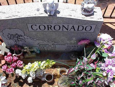 CORONADO, JUANA L. - Pinal County, Arizona | JUANA L. CORONADO - Arizona Gravestone Photos