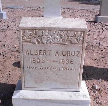 CRUZ, ALBERT A. - Pinal County, Arizona | ALBERT A. CRUZ - Arizona Gravestone Photos