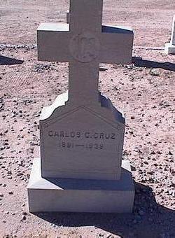CRUZ, CARLOS C. - Pinal County, Arizona   CARLOS C. CRUZ - Arizona Gravestone Photos