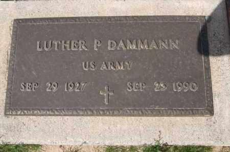 DAMMANN, LUTHER P. - Pinal County, Arizona   LUTHER P. DAMMANN - Arizona Gravestone Photos