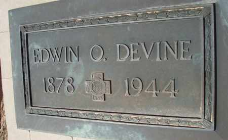 DEVINE, EDWIN O. - Pinal County, Arizona   EDWIN O. DEVINE - Arizona Gravestone Photos