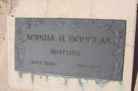 DOUGLAS, SOPHIA H. - Pinal County, Arizona | SOPHIA H. DOUGLAS - Arizona Gravestone Photos