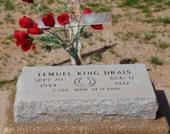DRAIS, LEMUEL KING - Pinal County, Arizona   LEMUEL KING DRAIS - Arizona Gravestone Photos