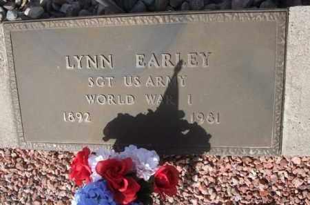 EARLEY, LYNN - Pinal County, Arizona | LYNN EARLEY - Arizona Gravestone Photos