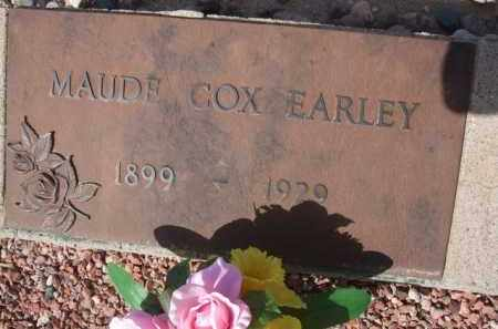 EARLEY, MAUDE - Pinal County, Arizona | MAUDE EARLEY - Arizona Gravestone Photos