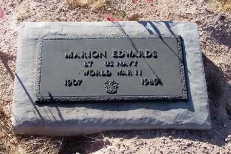 EDWARDS, MARION - Pinal County, Arizona | MARION EDWARDS - Arizona Gravestone Photos