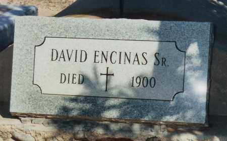 ENCINAS, DAVID, SR. - Pinal County, Arizona | DAVID, SR. ENCINAS - Arizona Gravestone Photos
