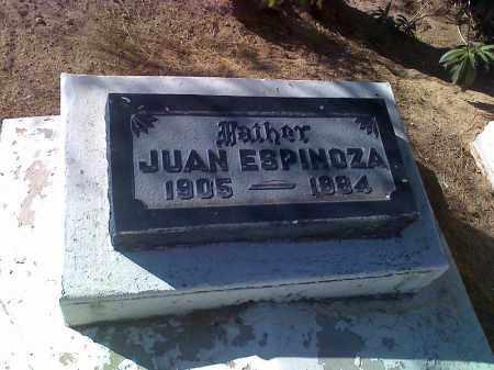 ESPINOZA, JUAN - Pinal County, Arizona | JUAN ESPINOZA - Arizona Gravestone Photos