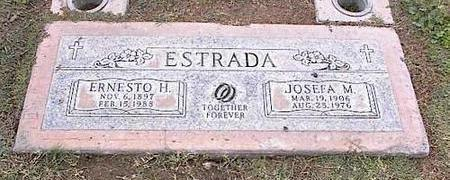ESTRADA, ERNESTO H. - Pinal County, Arizona | ERNESTO H. ESTRADA - Arizona Gravestone Photos