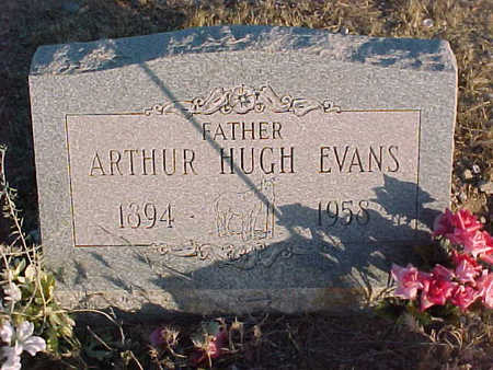 EVANS, ARTHUR HUGH - Pinal County, Arizona | ARTHUR HUGH EVANS - Arizona Gravestone Photos