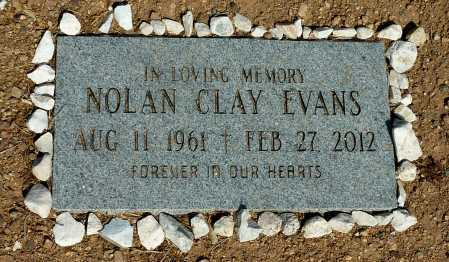 EVANS, NOLAN CLAY - Pinal County, Arizona | NOLAN CLAY EVANS - Arizona Gravestone Photos