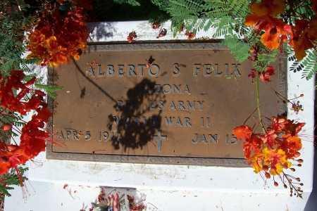 FELIX, ALBERTO S. - Pinal County, Arizona | ALBERTO S. FELIX - Arizona Gravestone Photos