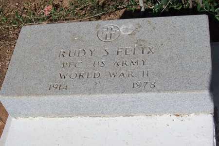 FELIX, RUDY S. - Pinal County, Arizona   RUDY S. FELIX - Arizona Gravestone Photos