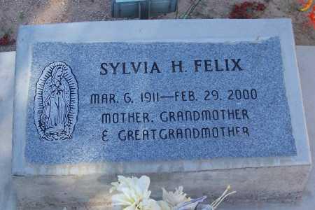 FELIX, SYLVIA H. - Pinal County, Arizona   SYLVIA H. FELIX - Arizona Gravestone Photos