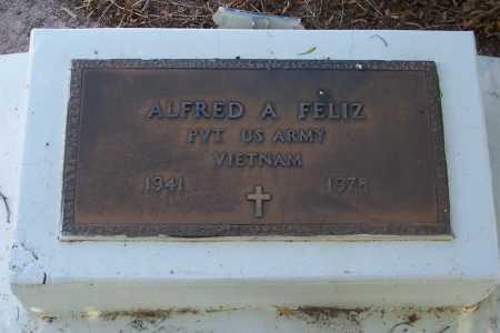 FELIZ, ALFRED A. - Pinal County, Arizona | ALFRED A. FELIZ - Arizona Gravestone Photos