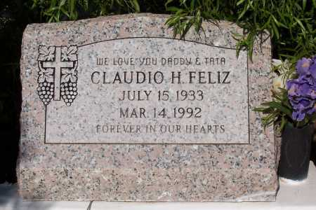FELIZ, CLAUDIO H. - Pinal County, Arizona   CLAUDIO H. FELIZ - Arizona Gravestone Photos