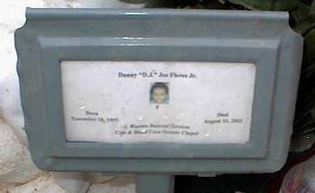 FLORES, DANNY, D.J., JOE, JR. - Pinal County, Arizona | DANNY, D.J., JOE, JR. FLORES - Arizona Gravestone Photos