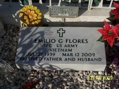 FLORES, EMILIO 'CHARRAS'  G. - Pinal County, Arizona   EMILIO 'CHARRAS'  G. FLORES - Arizona Gravestone Photos