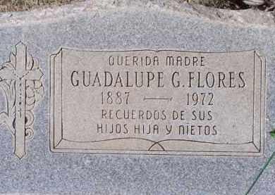 FLORES, GUADULUPE - Pinal County, Arizona   GUADULUPE FLORES - Arizona Gravestone Photos