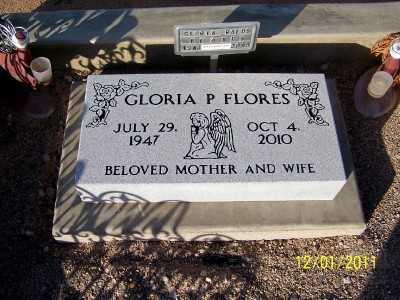 FLORES, GLORIA - Pinal County, Arizona   GLORIA FLORES - Arizona Gravestone Photos