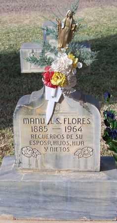 FLORES, MANUAL S. - Pinal County, Arizona | MANUAL S. FLORES - Arizona Gravestone Photos