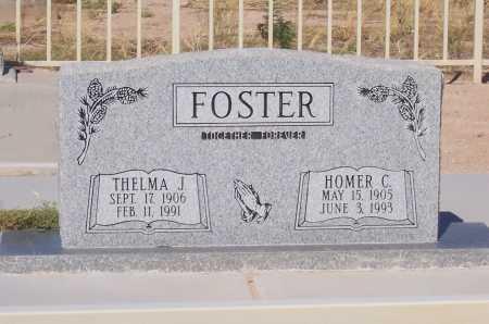 FOSTER, HOMER C - Pinal County, Arizona | HOMER C FOSTER - Arizona Gravestone Photos