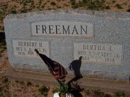FREEMAN, HERBERT H. - Pinal County, Arizona   HERBERT H. FREEMAN - Arizona Gravestone Photos