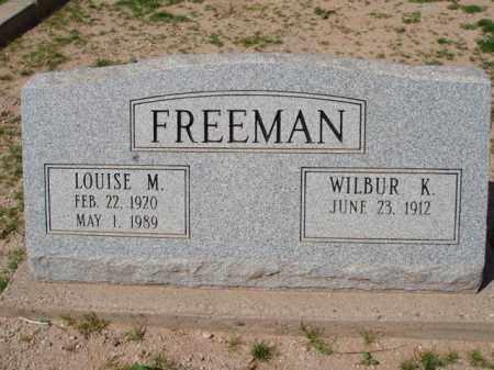 FREEMAN, LOUISE M. - Pinal County, Arizona | LOUISE M. FREEMAN - Arizona Gravestone Photos