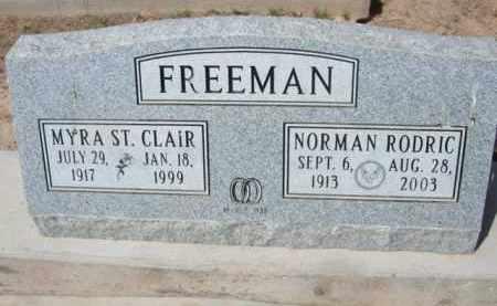 FREEMAN, MYRA - Pinal County, Arizona | MYRA FREEMAN - Arizona Gravestone Photos